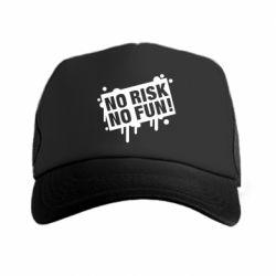 Кепка-тракер No Risk No Fun