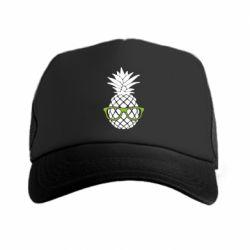 Кепка-тракер Pineapple with glasses