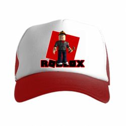 Кепка-тракер Roblox Builderman