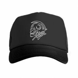 Кепка-тракер Skull with scythe