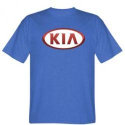 Мужская футболка KIA 3D Logo - FatLine