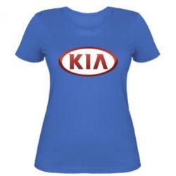 Женская футболка KIA 3D Logo