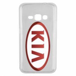 Чохол для Samsung J1 2016 KIA 3D Logo