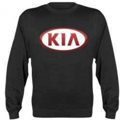 Реглан (свитшот) KIA 3D Logo - FatLine