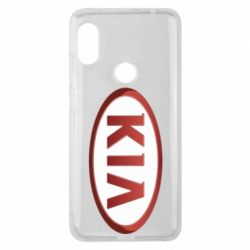 Чохол для Xiaomi Redmi Note Pro 6 KIA 3D Logo