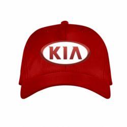 Детская кепка KIA 3D Logo - FatLine