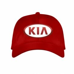 Детская кепка KIA 3D Logo