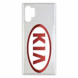 Чохол для Samsung Note 10 Plus KIA 3D Logo