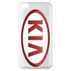 Чохол для Xiaomi Redmi Go KIA 3D Logo