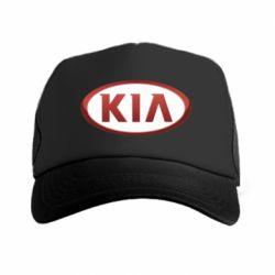 Кепка-тракер KIA 3D Logo - FatLine