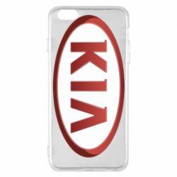 Чохол для iPhone 6 Plus/6S Plus KIA 3D Logo