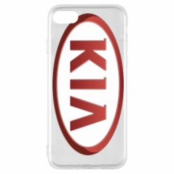 Чохол для iPhone 7 KIA 3D Logo
