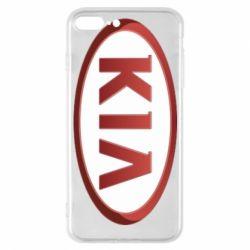 Чохол для iPhone 7 Plus KIA 3D Logo