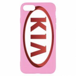 Чохол для iPhone 8 KIA 3D Logo