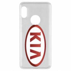 Чохол для Xiaomi Redmi Note 5 KIA 3D Logo