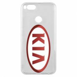 Чохол для Xiaomi Mi A1 KIA 3D Logo