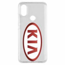 Чохол для Xiaomi Mi A2 KIA 3D Logo