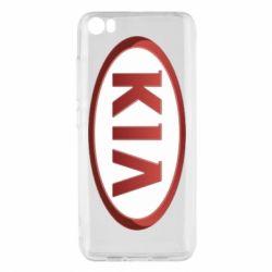 Чохол для Xiaomi Mi5/Mi5 Pro KIA 3D Logo
