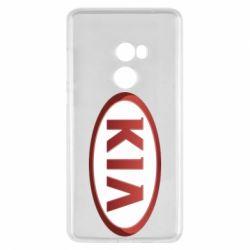 Чохол для Xiaomi Mi Mix 2 KIA 3D Logo