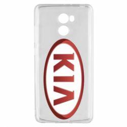 Чохол для Xiaomi Redmi 4 KIA 3D Logo