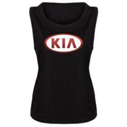 Женская майка KIA 3D Logo - FatLine