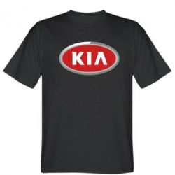 Мужская футболка KIA Logo 3D - FatLine