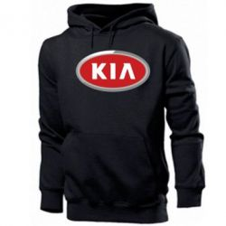 Мужская толстовка KIA Logo 3D - FatLine