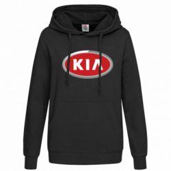 Женская толстовка KIA Logo 3D - FatLine
