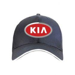 кепка KIA Logo 3D - FatLine