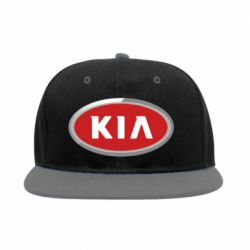 Снепбек KIA Logo 3D - FatLine