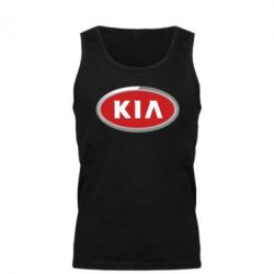 Мужская майка KIA Logo 3D