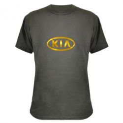 Камуфляжная футболка KIA logo Голограмма