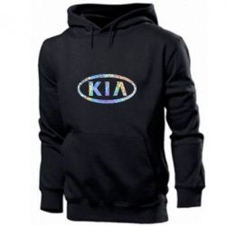 Мужская толстовка KIA logo Голограмма