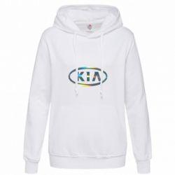Женская толстовка KIA logo Голограмма