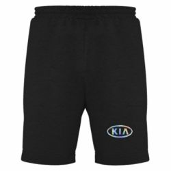 Мужские шорты KIA logo Голограмма