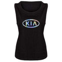 Майка жіноча KIA logo Голограма