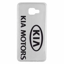 Чохол для Samsung A7 2016 Kia Logo