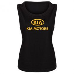 Женская майка Kia Logo - FatLine