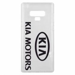Чохол для Samsung Note 9 Kia Logo