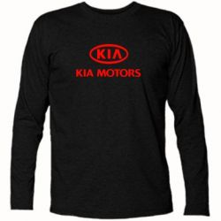 Футболка с длинным рукавом Kia Logo - FatLine
