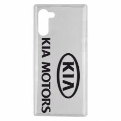 Чохол для Samsung Note 10 Kia Logo