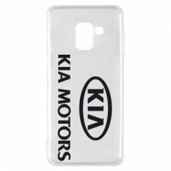 Чохол для Samsung A8 2018 Kia Logo