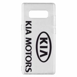 Чохол для Samsung Note 8 Kia Logo