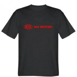 Мужская футболка Kia Motors Logo - FatLine