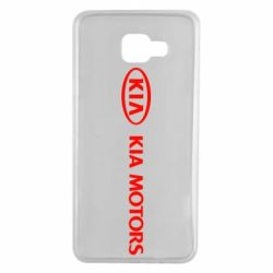 Чехол для Samsung A7 2016 Kia Motors Logo