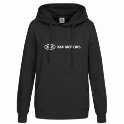 Женская толстовка Kia Motors Logo - FatLine