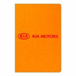 Блокнот А5 Kia Motors Logo