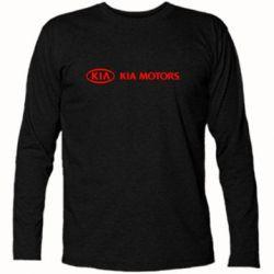 Футболка с длинным рукавом Kia Motors Logo - FatLine