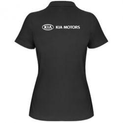Женская футболка поло Kia Motors Logo - FatLine