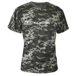 Камуфляжная футболка Kia Motors Logo